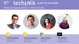 TechTalk #9 – IT Horror Stories – 31 Oct 2019