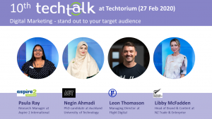 TechTalk #10 – Digital Marketing – 27 Feb 2020