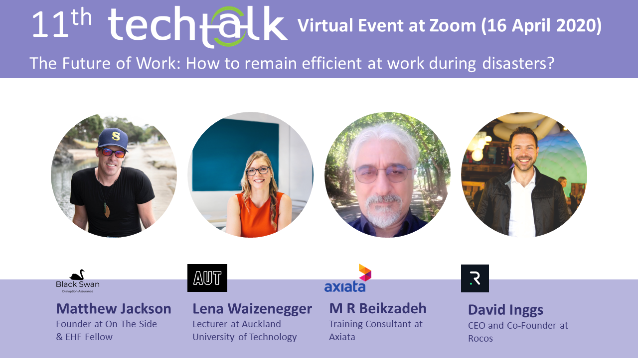 TechTalk #11 – The Future of Work – 14 May 2020