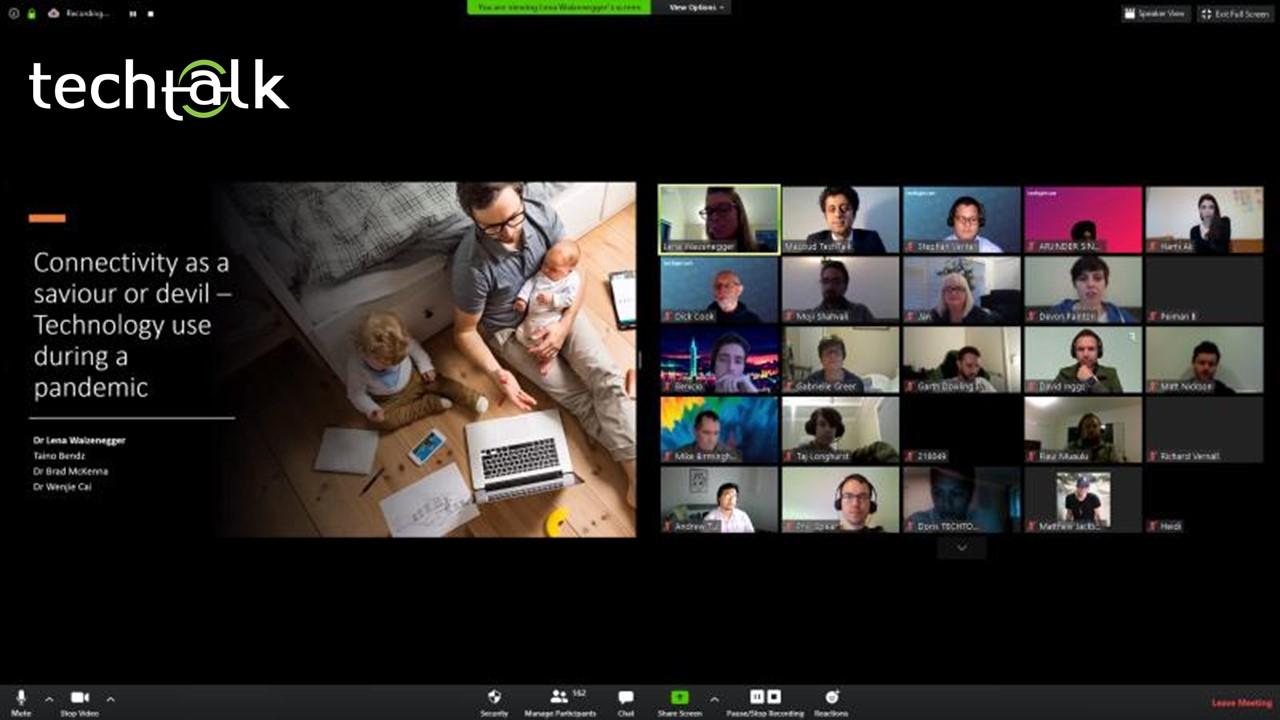 TechTalk 1st international & virtual seminar