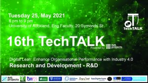 TechTalk #16 – Research and Development – 25 May 2021